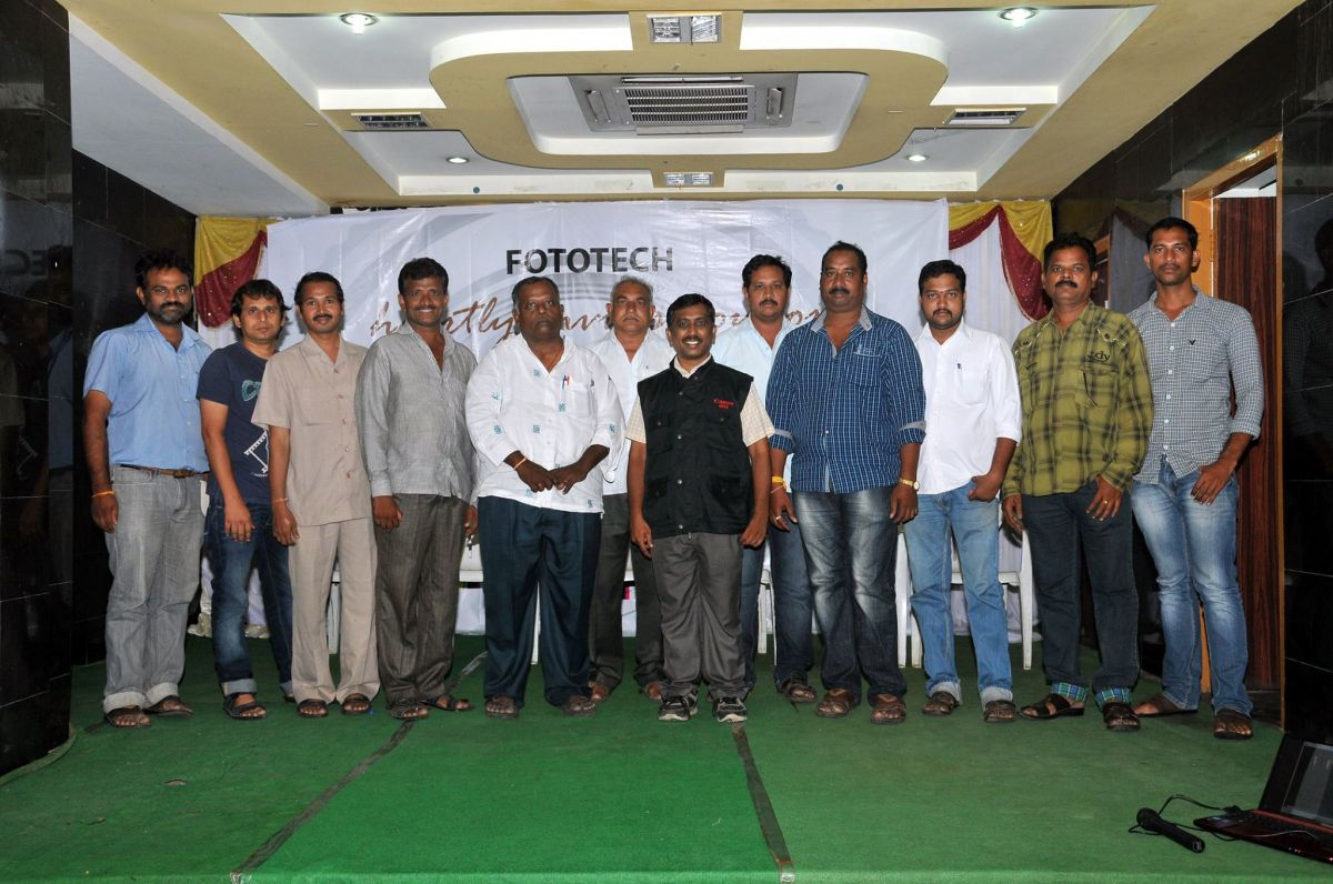 Rambabu Dhanisetty Conducted a seminar on Canon Photo cameras